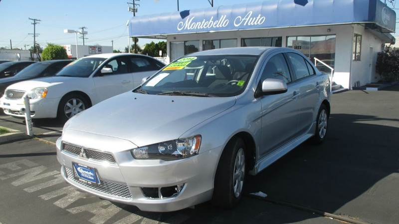 2014 MITSUBISHI LANCER ES 4DR SEDAN 5M silver 2-stage unlocking - remote abs - 4-wheel air filt