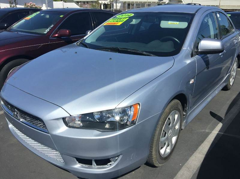 2014 MITSUBISHI LANCER ES 4DR SEDAN CVT gray cash price  plus applicable fees 2-stage unlocking -