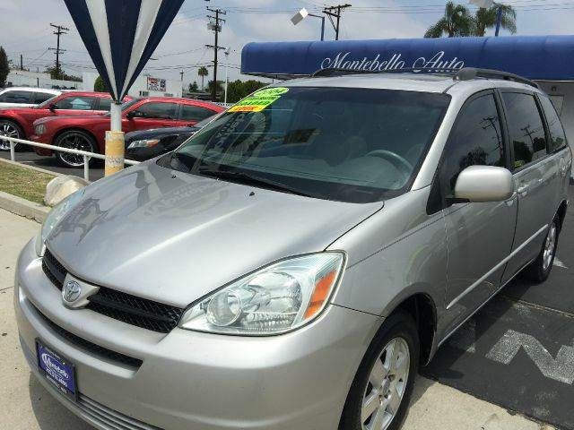 2004 TOYOTA SIENNA XLE LIMITED 7 PASSENGER 4DR MINI silver abs - 4-wheel anti-theft system - ala