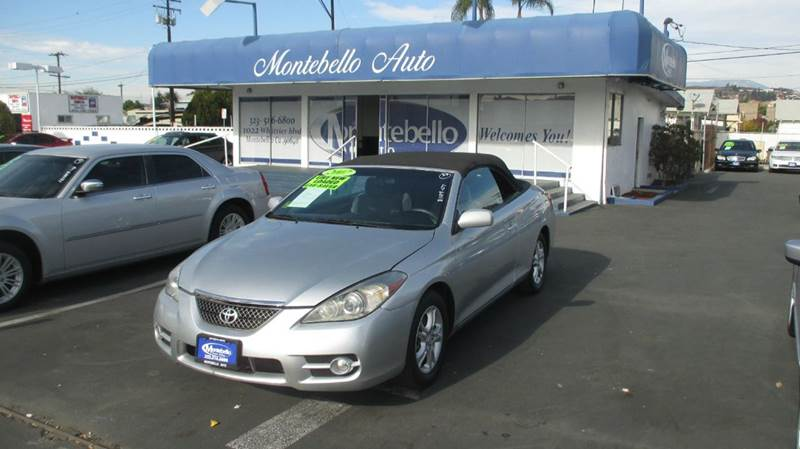 2007 TOYOTA CAMRY SOLARA SE V6 2DR CONVERTIBLE silver 2-stage unlocking doors abs - 4-wheel air