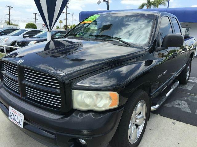 2002 DODGE RAM PICKUP 1500 SLT PLUS 4DR QUAD CAB 2WD SB black cash price  plus aplicable  fees ab