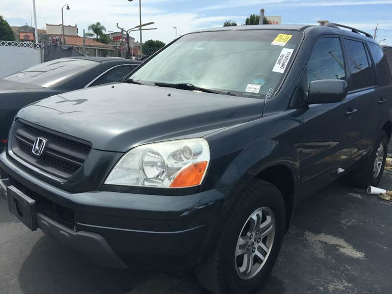 2003 HONDA PILOT EX 4WD 4DR SUV blue 4wd type - on demand abs - 4-wheel anti-theft system - ala