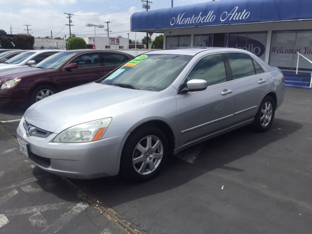 2005 HONDA ACCORD EX V-6 4DR SEDAN silver abs - 4-wheel anti-theft system - alarm cd changer c