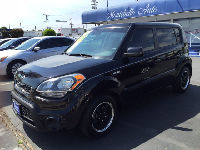2013 KIA SOUL BASE 4DR WAGON 6A black 2-stage unlocking doors abs - 4-wheel airbag deactivation
