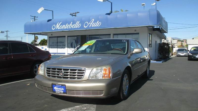 2002 CADILLAC DEVILLE DHS 4DR SEDAN bronze abs - 4-wheel air suspension - rear anti-theft syste