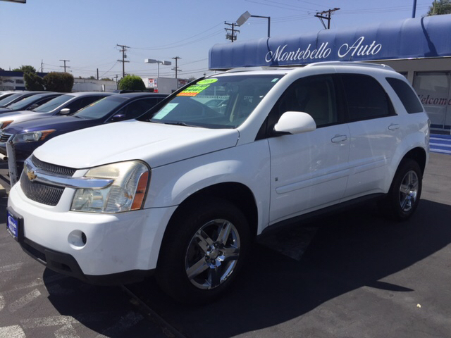 2008 CHEVROLET EQUINOX LT 4DR SUV W1LT white 2-stage unlocking doors abs - 4-wheel airbag deac