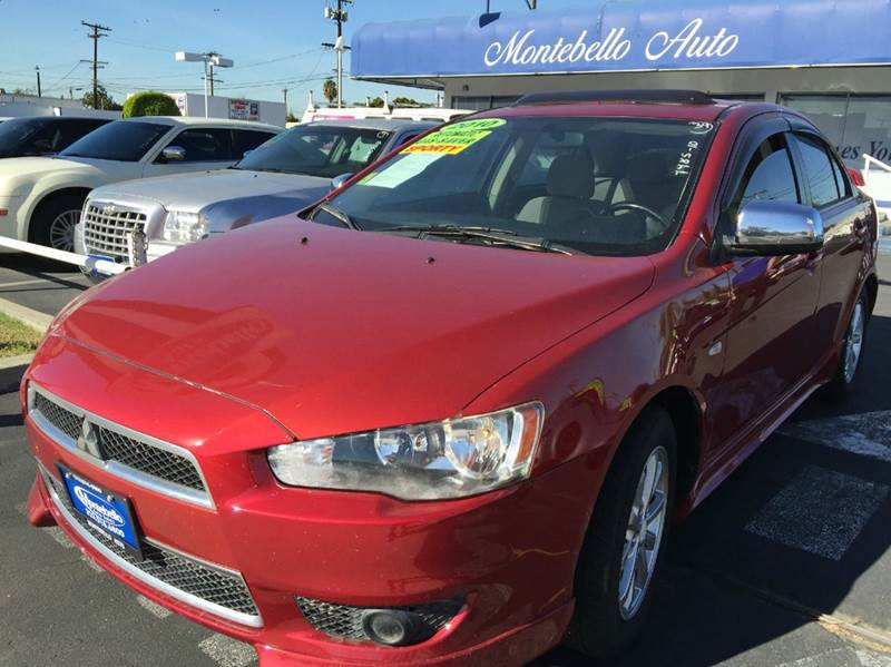 2010 MITSUBISHI LANCER ES 4DR SEDAN CVT marron 2-stage unlocking doors abs - 4-wheel active hea
