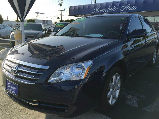 2007 TOYOTA AVALON XLS 4DR SEDAN blue cash price  plus aplicable  fees 2-stage unlocking - remote