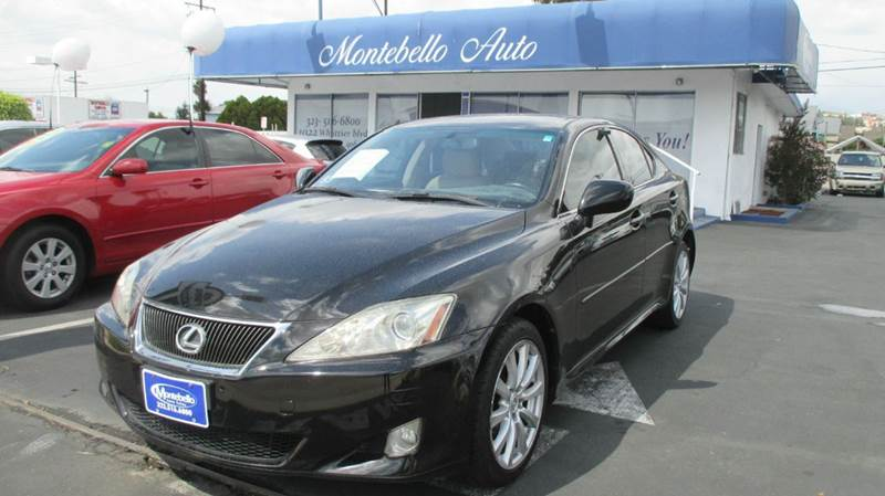 2007 LEXUS IS 250 BASE AWD 4DR SEDAN 25L V6 6A black 2-stage unlocking doors 4wd type - full