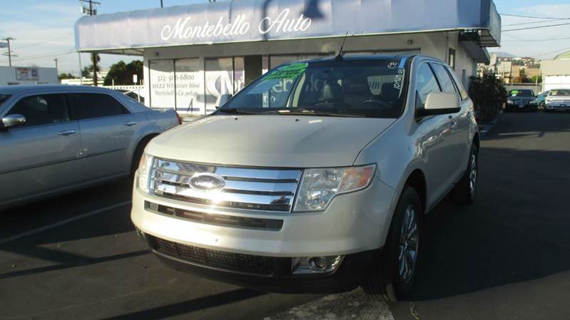 2007 FORD EDGE SEL PLUS 4DR SUV silver 2-stage unlocking doors abs - 4-wheel airbag deactivatio