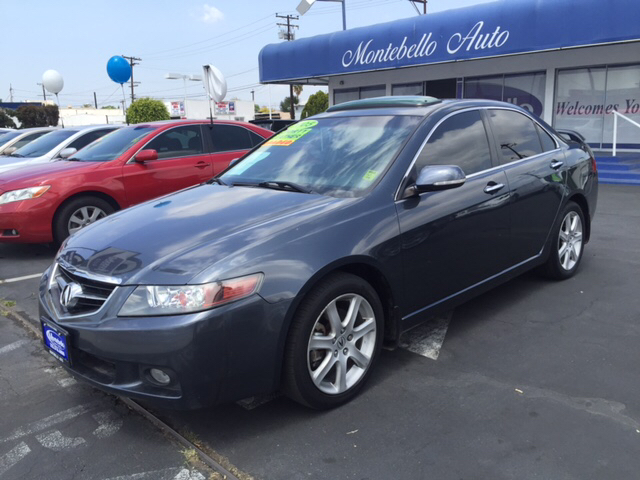 2005 ACURA TSX BASE 4DR SEDAN gray abs - 4-wheel anti-theft system - alarm cd changer center c