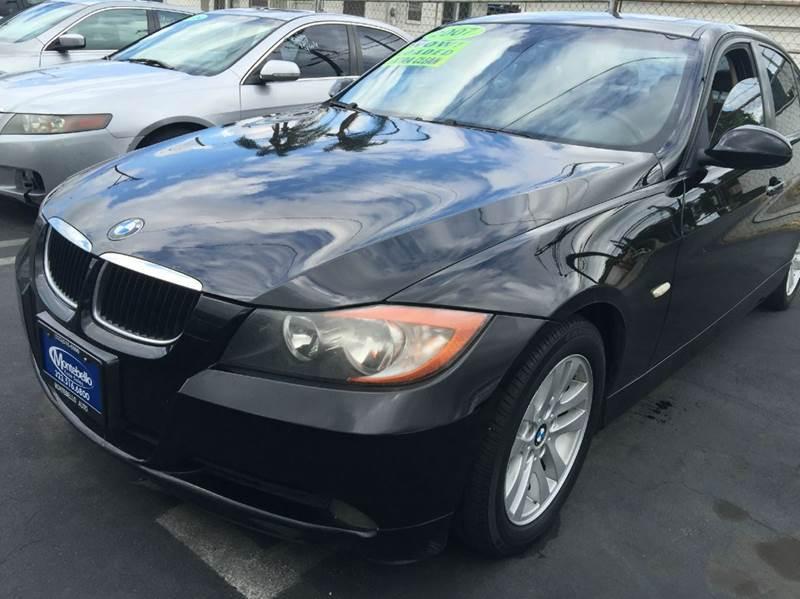 2007 BMW 3 SERIES 328I 4DR SEDAN black cash price plus aplicable fees 2-stage unlocking - remote