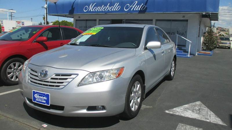 2008 TOYOTA CAMRY XLE V6 4DR SEDAN 6A silver 2-stage unlocking doors abs - 4-wheel air filtrati