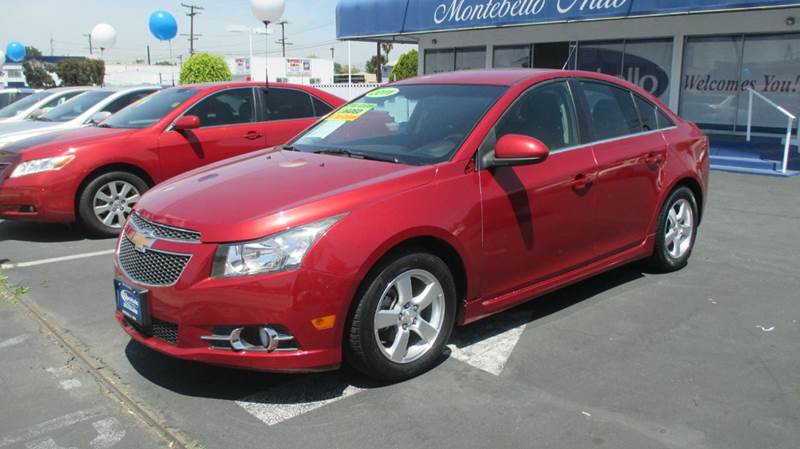 2011 CHEVROLET CRUZE LT 4DR SEDAN W1LT red 2-stage unlocking doors abs - 4-wheel air filtratio