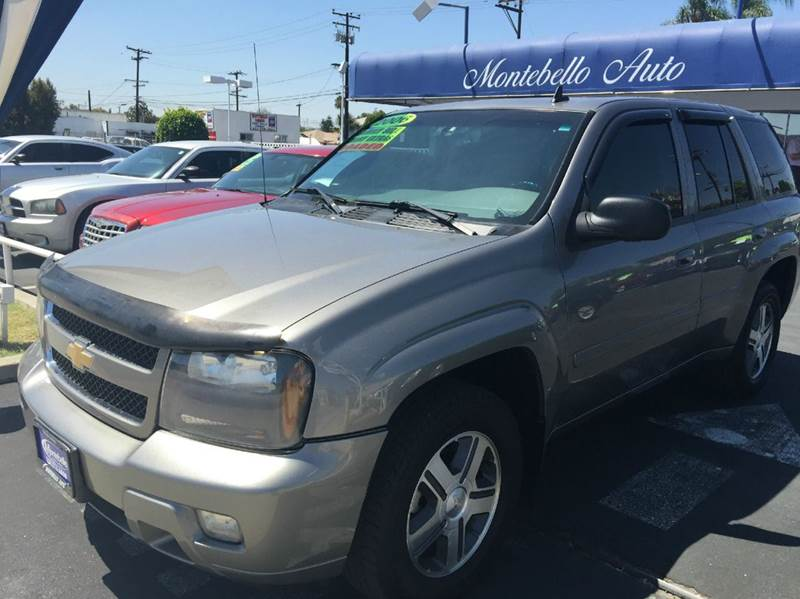 2006 CHEVROLET TRAILBLAZER LT 4DR SUV gray cash price  plus aplicable  fees abs - 4-wheel airbag
