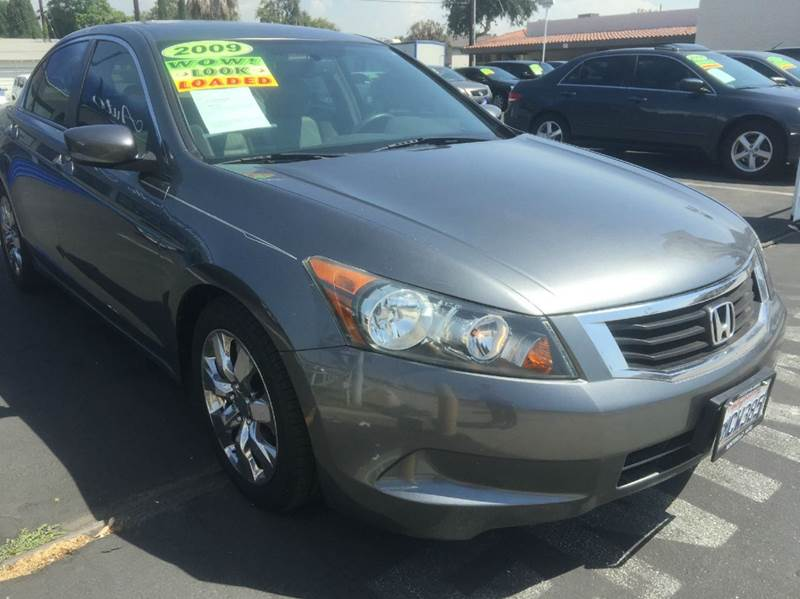 2009 HONDA ACCORD EX-L 4DR SEDAN 5A gray abs - 4-wheel active head restraints - dual front air