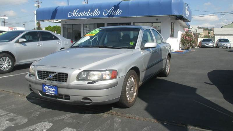 2004 VOLVO S60 24 4DR SEDAN grey abs - 4-wheel anti-theft system - alarm cassette center cons
