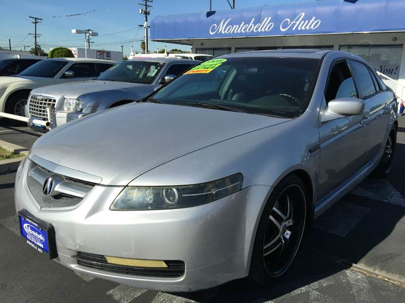 2005 ACURA TL 32 WNAVI 4DR SEDAN silver abs - 4-wheel anti-theft system - alarm cassette cd