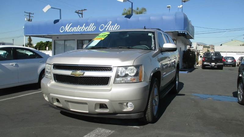 2007 CHEVROLET TAHOE LT 4DR SUV tan 2-stage unlocking - remote abs - 4-wheel airbag deactivatio