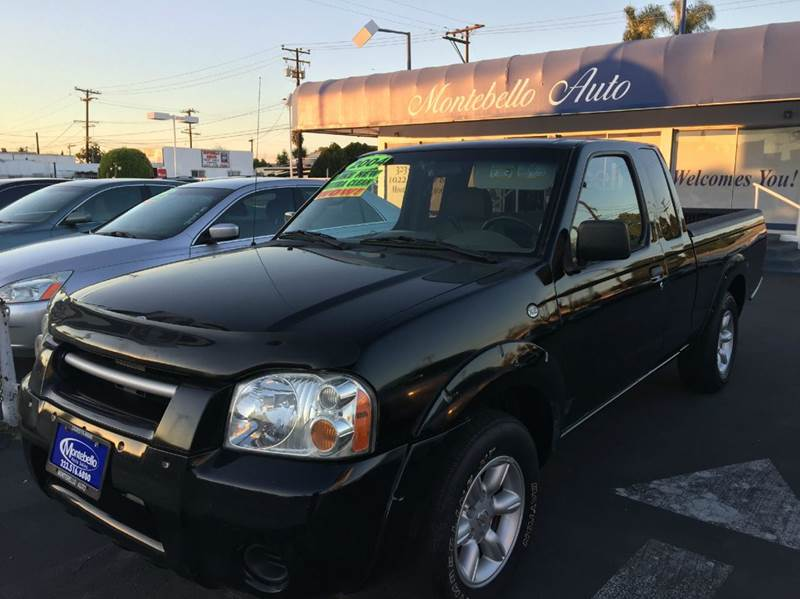 2003 NISSAN FRONTIER XE 2DR KING CAB RWD SB black abs - 4-wheel axle ratio - 390 center consol
