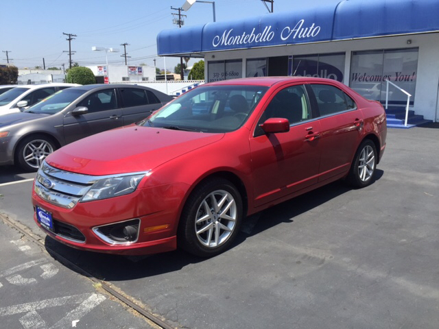2011 FORD FUSION SEL 4DR SEDAN red 2-stage unlocking doors abs - 4-wheel air filtration airbag