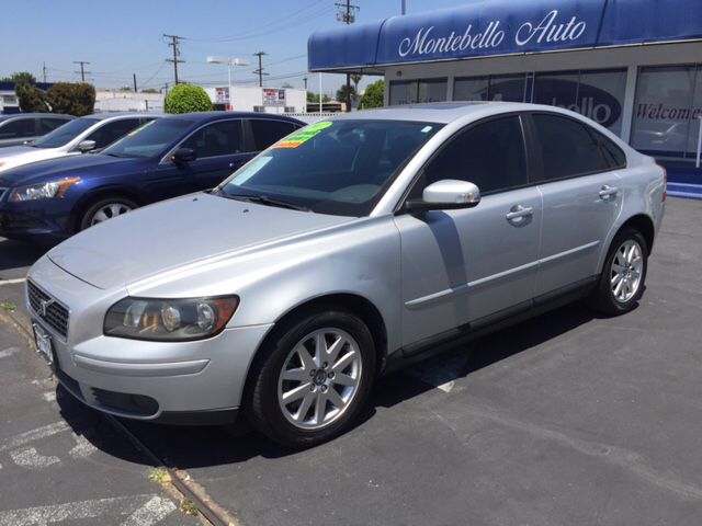 2007 VOLVO S40 T5 4DR SEDAN silver 2-stage unlocking doors abs - 4-wheel active head restraints