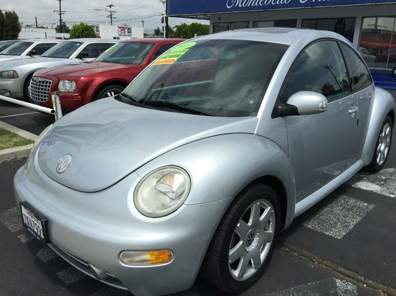 2003 VOLKSWAGEN NEW BEETLE GLX 18T 2DR TURBO HATCHBACK silver abs - 4-wheel anti-theft system -