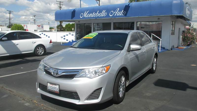 2012 TOYOTA CAMRY LE 4DR SEDAN silver 2-stage unlocking abs - 4-wheel air filtration airbag de