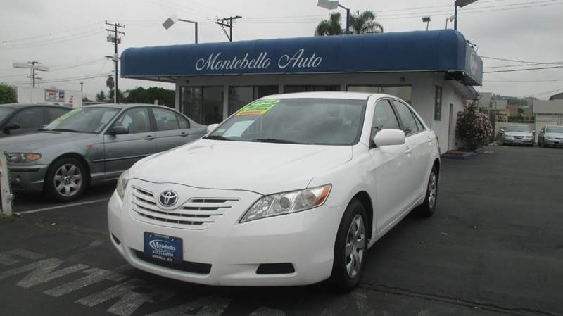 2009 TOYOTA CAMRY LE 4DR SEDAN 5A white 2-stage unlocking - remote abs - 4-wheel air filtration