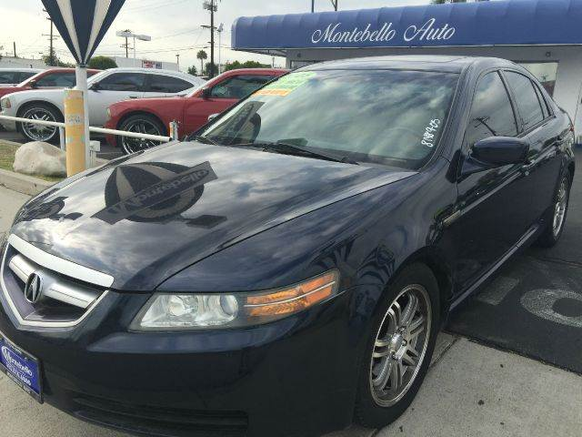 2005 ACURA TL 32 4DR SEDAN cash price  plus aplicable  fees abs - 4-wheel anti-theft system - al
