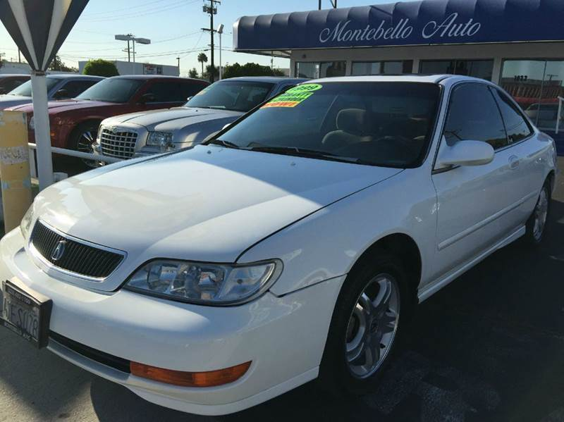 1998 ACURA CL 23 2DR COUPE white cash price  plus aplicable  fees abs - 4-wheel anti-theft syst
