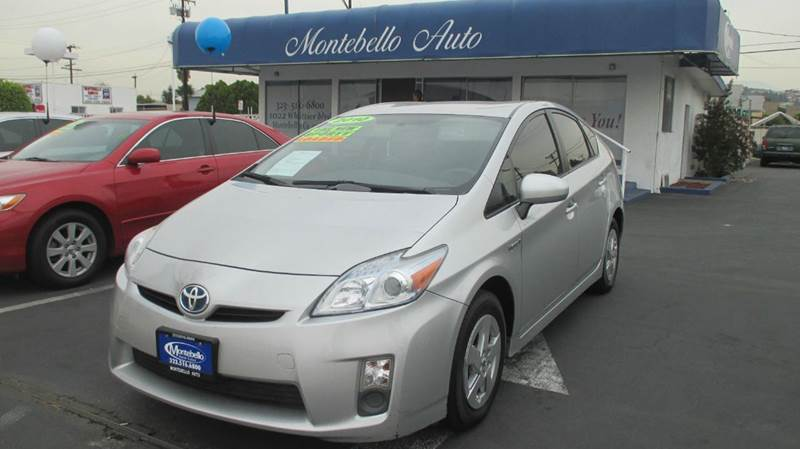 2010 TOYOTA PRIUS III 4DR HATCHBACK silver abs - 4-wheel active head restraints - dual front ac