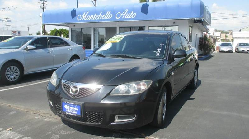 2009 MAZDA MAZDA3 I SPORT 4DR SEDAN 4A black abs - 4-wheel airbag deactivation - occupant sensin