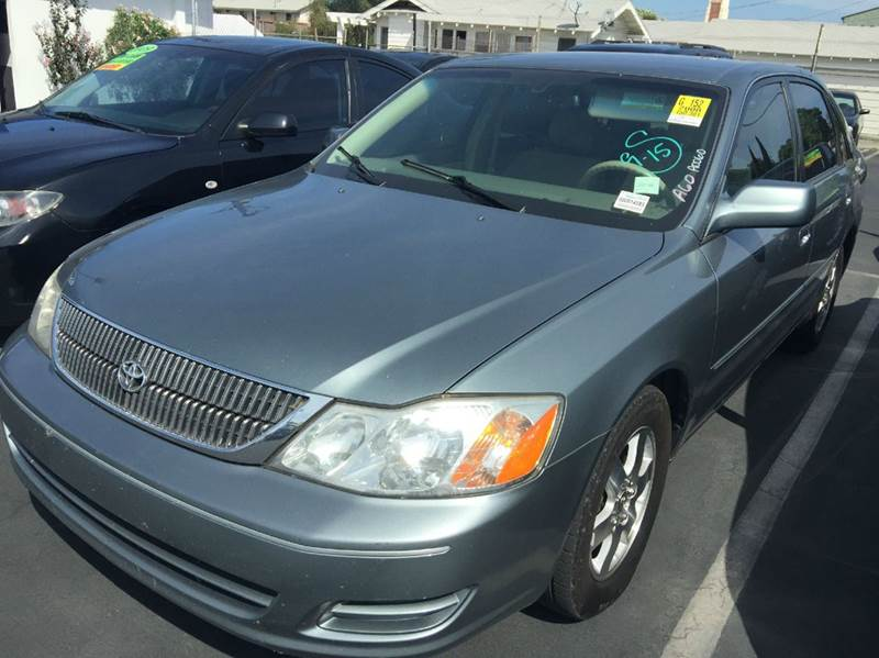 2000 TOYOTA AVALON XLS 4DR SEDAN gray abs - 4-wheel anti-theft system - alarm cassette center