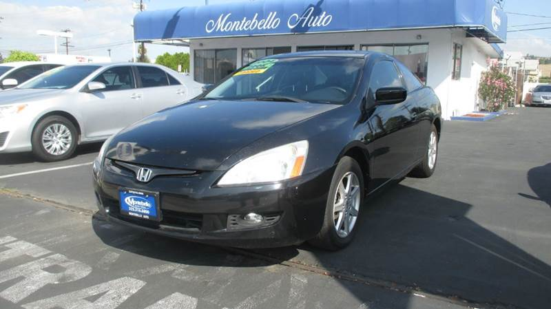 2004 HONDA ACCORD EX V-6 2DR COUPE black abs - 4-wheel anti-theft system - alarm cd changer ce