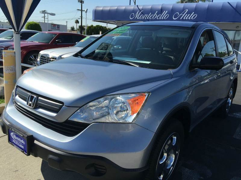 2007 HONDA CR-V LX AWD 4DR SUV blue 2-stage unlocking - remote 4wd type - on demand abs - 4-whe