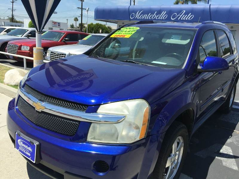2007 CHEVROLET EQUINOX LT 4DR SUV blue 2-stage unlocking - remote abs - 4-wheel airbag deactiva