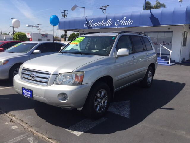 2007 TOYOTA HIGHLANDER BASE AWD 4DR SUV V6 blue 2-stage unlocking doors 4wd type - full time ab
