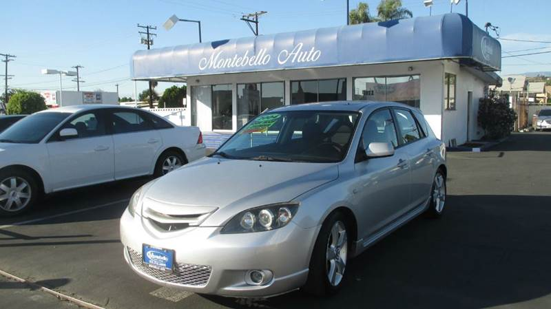 2004 MAZDA MAZDA3 S 4DR WAGON silver center console clock cruise control exterior entry lights