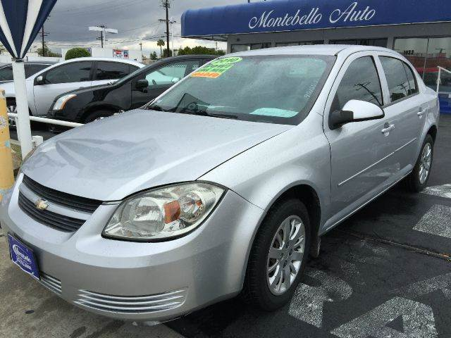 2010 CHEVROLET COBALT LT 4DR SEDAN silver cash price  plus aplicable  fees air filtration airbag