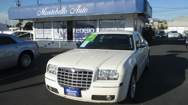 2010 CHRYSLER 300 TOURING 4DR SEDAN white abs - 4-wheel air filtration airbag deactivation - oc
