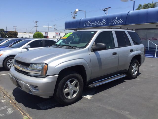 2006 CHEVROLET TRAILBLAZER LS 4DR SUV W1SA silver abs - 4-wheel airbag deactivation - occupant
