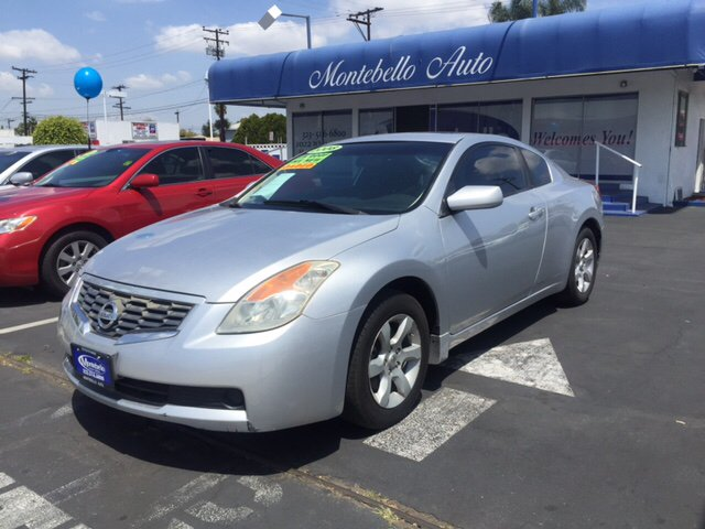 2008 NISSAN ALTIMA 25 S 2DR COUPE CVT silver 2-stage unlocking doors abs - 4-wheel active head