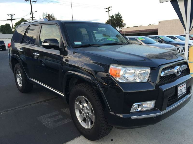 2011 TOYOTA 4RUNNER SR5 4X2 4DR SUV black cash price  plus aplicable  fees abs - 4-wheel air fil