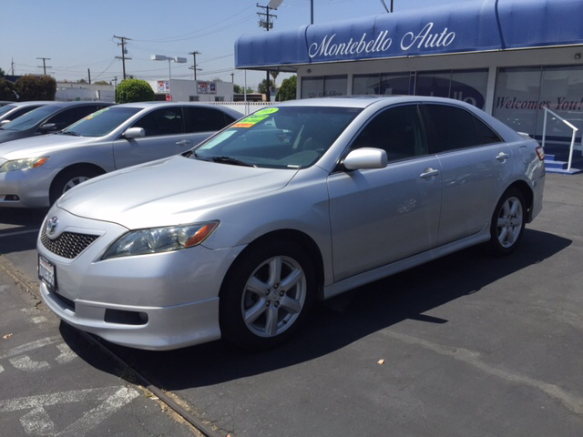 2008 TOYOTA CAMRY SE 4DR SEDAN 5A silver 2-stage unlocking doors abs - 4-wheel air filtration