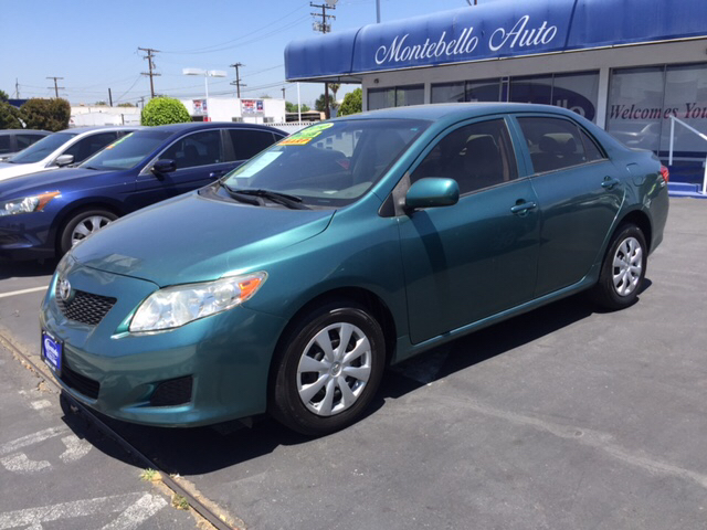 2010 TOYOTA COROLLA LE 4DR SEDAN 4A green 2-stage unlocking doors abs - 4-wheel active head res