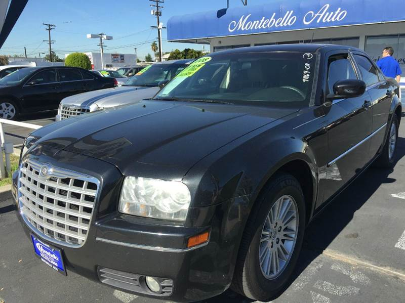 2008 CHRYSLER 300 TOURING 4DR SEDAN black 2-stage unlocking doors abs - 4-wheel airbag deactiva