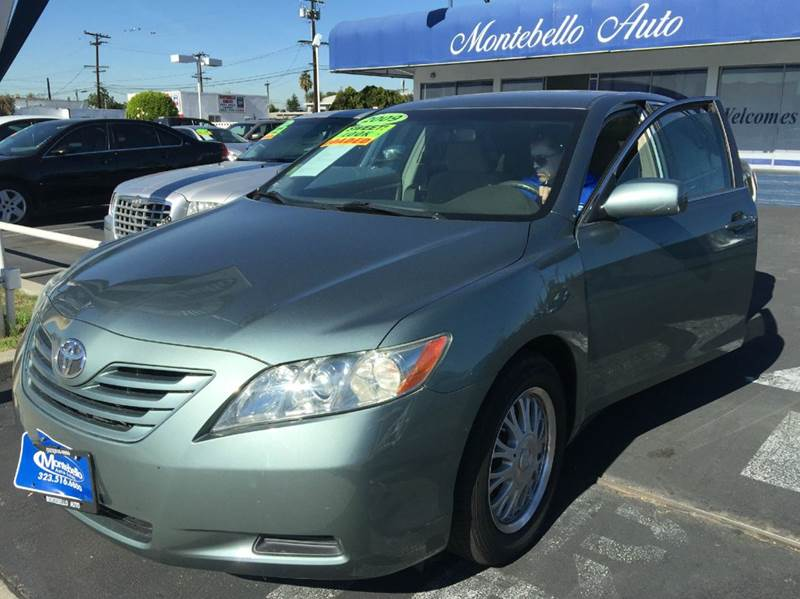 2009 TOYOTA CAMRY LE 4DR SEDAN 5A olive green 2-stage unlocking doors abs - 4-wheel air filtrat