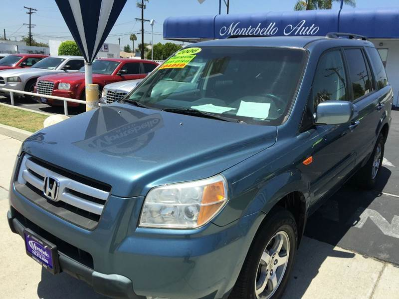 2006 HONDA PILOT EX 4DR SUV blue abs - 4-wheel air filtration airbag deactivation - occupant se