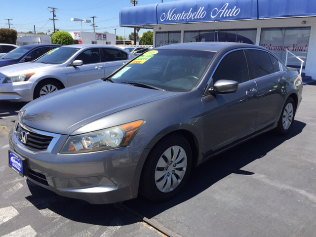 2008 HONDA ACCORD EX-L 4DR SEDAN 5A gray abs - 4-wheel active head restraints - dual front air